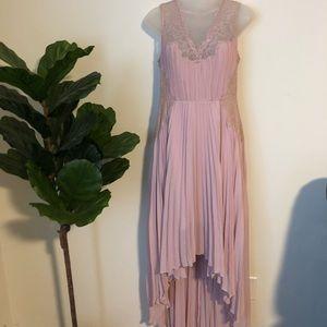 BCBGMaxAzria dress // lavender and lace